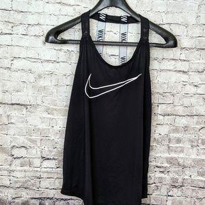 Nike Dri fit open Back tank black